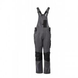 Pantaloni Workwear Pantsss With Bib colore carbon/black taglia 56