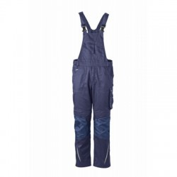 Pantaloni Workwear Pantsss With Bib colore navy/navy taglia 46