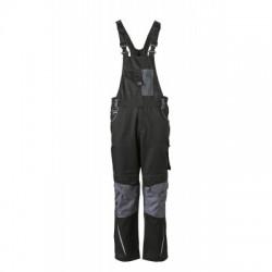 Pantaloni Workwear Pantsss With Bib colore black/carbon taglia 50