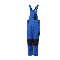 Pantaloni Workwear Pantsss With Bib colore royal/navy taglia 54