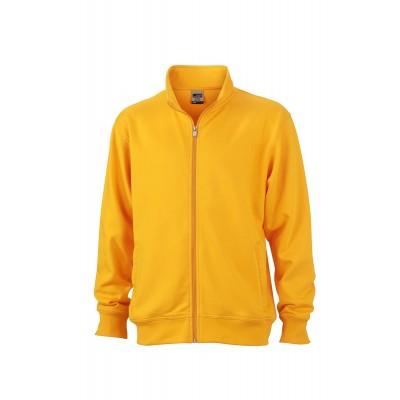 Felpe Workwear Sweat Jacket colore gold-yellow taglia XS