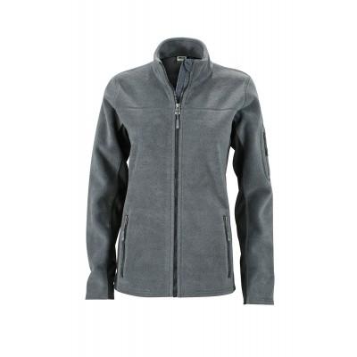 Pile Ladies' Workwear Fleece Jacket colore carbon/black taglia XS