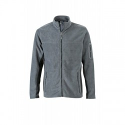 Pile Men's Workwear Fleece Jacket colore carbon/black taglia XXL