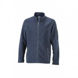 Pile Men's Workwear Fleece Jacket colore navy/navy taglia S