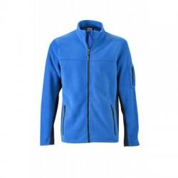Pile Men's Workwear Fleece Jacket colore royal/navy taglia M