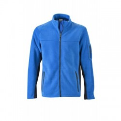 Pile Men's Workwear Fleece Jacket colore royal/navy taglia L