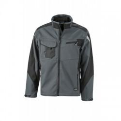 Giacche Workwear Softshell Jacket colore carbon/black taglia L