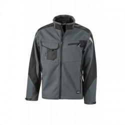 Giacche Workwear Softshell Jacket colore carbon/black taglia 3XL