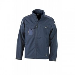 Giacche Workwear Softshell Jacket colore navy/navy taglia L