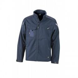 Giacche Workwear Softshell Jacket colore navy/navy taglia 3XL