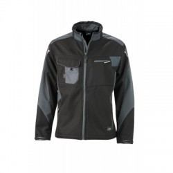 Giacche Workwear Softshell Jacket colore black/carbon taglia M