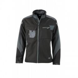 Giacche Workwear Softshell Jacket colore black/carbon taglia 3XL