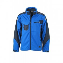 Giacche Workwear Softshell Jacket colore royal/navy taglia S