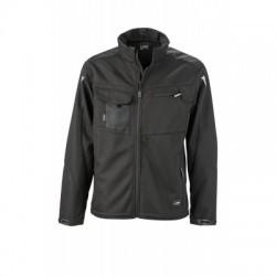 Giacche Workwear Softshell Jacket colore black/black taglia 3XL
