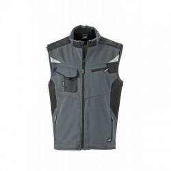 Giacche Workwear Softshell Vest colore carbon/black taglia L