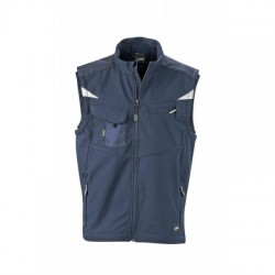 Giacche Workwear Softshell Vest colore navy/navy taglia S