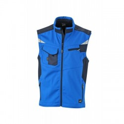 Giacche Workwear Softshell Vest colore royal/navy taglia M