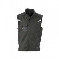 Giacche Workwear Softshell Vest colore black/black taglia 3XL