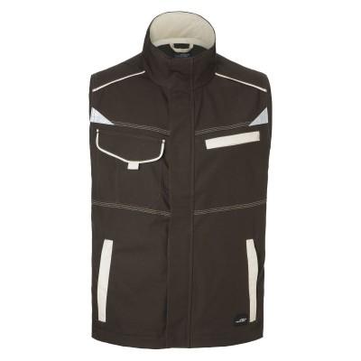 Giacche Workwear Vest-Level 2 colore brown/stone taglia XS