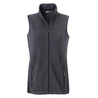 Giacche Ladies' Workwear Fleece Vest colore carbon/black taglia XS