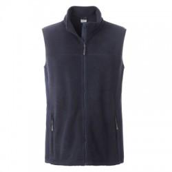 Pile Men's Workwear Fleece Vest colore navy/navy taglia M