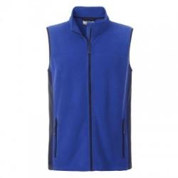 Pile Men's Workwear Fleece Vest colore royal/navy taglia S