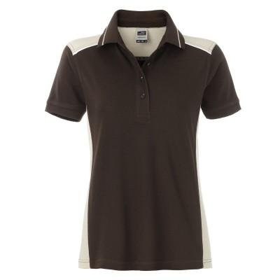 Polo Ladies' Workwear Polo-Level 2 colore brown/stone taglia XS