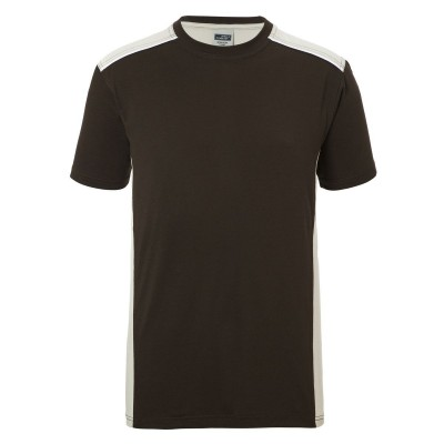 T-Shirt Men's Workwear T-Shirt-Level 2 colore brown/stone taglia XS