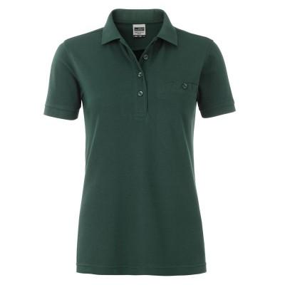 Polo Ladies' Workwear Polo Pocket colore dark-green taglia S