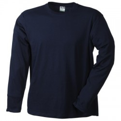 T-Shirt Men's Long-Sleeved Medium colore navy taglia XXL
