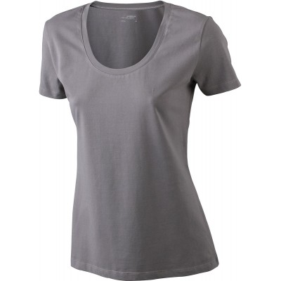 T-Shirt Ladies' Stretch Round-T colore charcoal taglia S