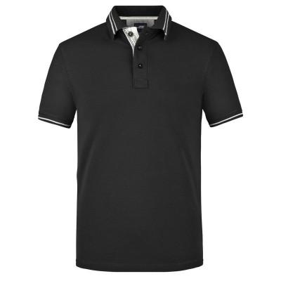 Polo Men's Lifestyle Polo colore black/off-white taglia S