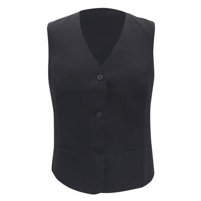Ho.Re.Ca. Ladies' Waistcoat Basic colore Black taglia XS