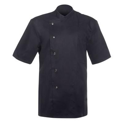 Ho.Re.Ca. Chef Jacket Gustav Short Sleeve colore Black taglia 44/50