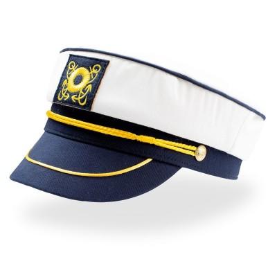 Cappelli Captain colore white-navy taglia UNICA