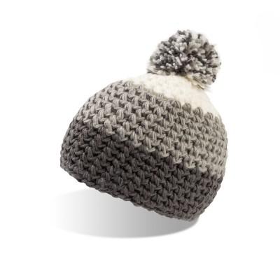 Cappelli Everest Beanie colore grey-grey taglia UNICA