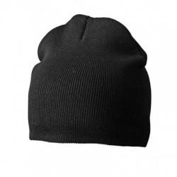 Cappelli Cotton Beanie colore black taglia UNICA
