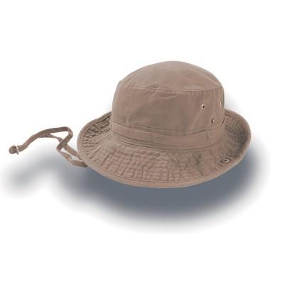 Cappelli Globe Trotter colore khaki taglia S/M