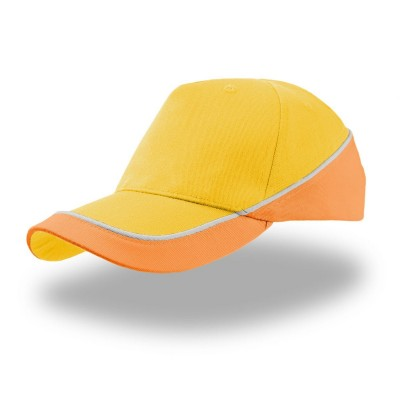 Cappelli kid racing colore yellow-orange taglia UNICA