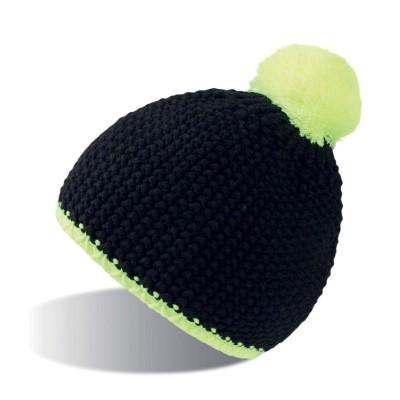 Cappelli Peak colore black-yellow taglia UNICA