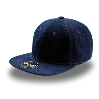 Cappelli Snap Denim colore navy taglia UNICA