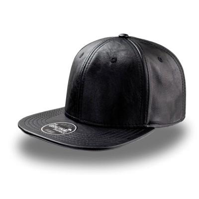 Cappelli Snap Eco Leather colore black taglia UNICA