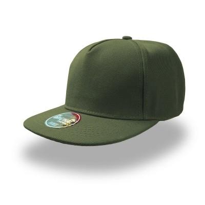 Cappelli Snap Five colore olive taglia UNICA
