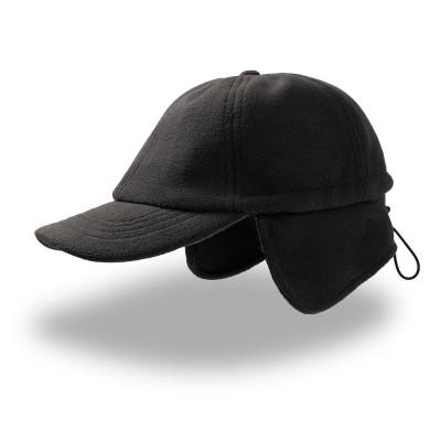Cappelli Snow Flap Stopper colore black taglia UNICA