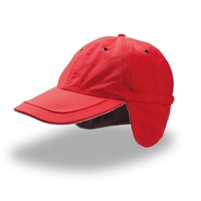 Cappelli Techno Flap colore Red taglia UNICA