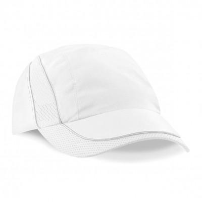Cappelli Coolmax Flow Mesh Cap colore white taglia UNICA