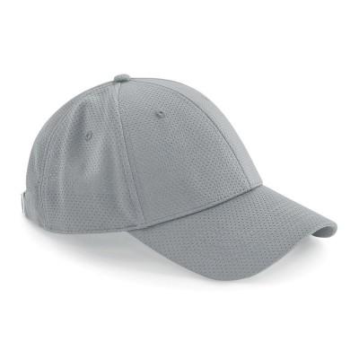 Cappelli Air Mesh 6 Panel Cap colore light grey taglia UNICA