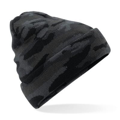 Cappelli Camo Cuffed Beanie colore midnight camo taglia UNICA