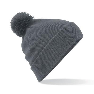 Cappelli Original Pom Pom Beanie colore graphite grey taglia UNICA