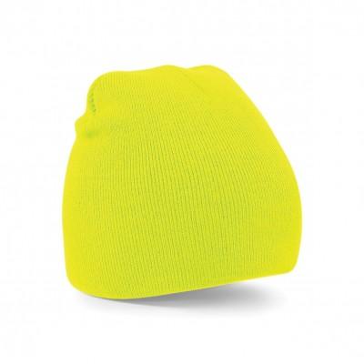 Cappelli Original Pull-On Beanie colore fluorescent yellow taglia UNICA